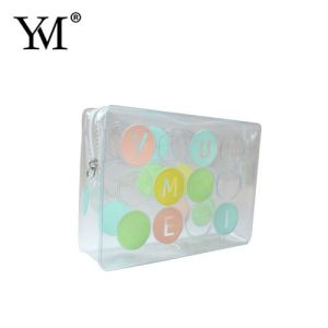 Waterproof Handmade Design Promotional Travel Transparent Clear Cosmetic Bag pictures & photos