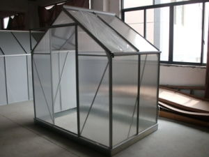 Factory Price Sainpoly Small Garden Greenhouse pictures & photos