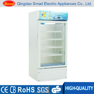 Hot Sale 158 Litre Supermarket Glass Display Showcase pictures & photos