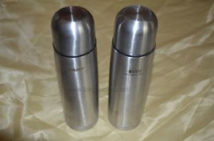 500ml Bullet Shape Promotional Stainless Steel Thermal Flask Bottle pictures & photos