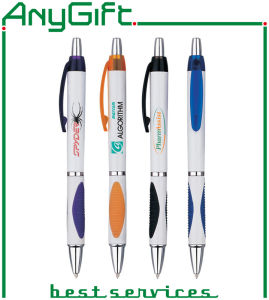 Various Types of Plastic Ballpen with Customized Logo pictures & photos