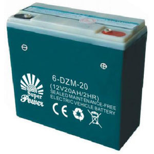Deep Cycle Battery 12V 20ah with CE UL Certificate Called (SP6-DZM-20) pictures & photos