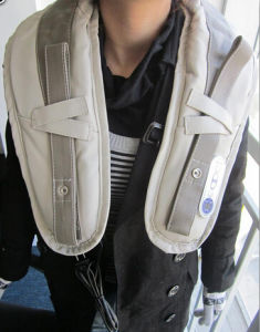 Heating Shoulder and Neck Massage Belt pictures & photos