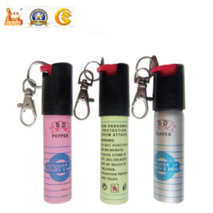 20ml Lady Self-Protection Defense Key Chain Pepper Spray pictures & photos