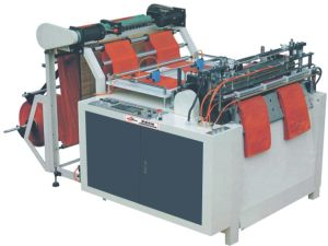 Two Line High-Speed Heat-Sealing and Heat-Cutting Bag Making Machine pictures & photos