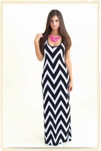Lady Dresses in Black/White (HSL005)