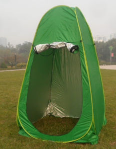 Green Pop-up Toilet Tent for Camper pictures & photos