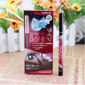 Fashion Brand Yanqina 36h Makeup Eyeliner Pencil Waterproof Black Eyeliner Pen Liquid Eye Liner 12PCS/Set pictures & photos