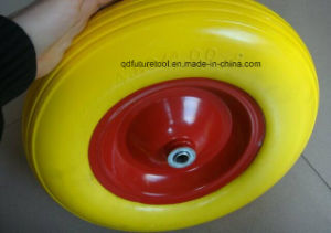 All Size Puncture Proof Wheelbarrow and Hand Trolley Rubber Polyurethane PU Foam Wheel pictures & photos