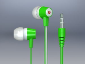 Good Quality in-Ear Earphone with Flat Cable (LS-F10)