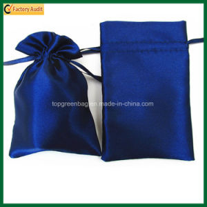 Custom Satin Gift Pouch Satin Drawstring Bags (TP-dB268) pictures & photos