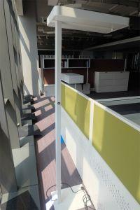 Uispair Modern Office 10W 32V Steel Base LED Lamp Floor Lighting pictures & photos