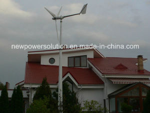 6.5kw Hybrid Wind and Solar System for Home Use