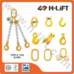 G80 Triple Leg Lifting Chain Sling pictures & photos
