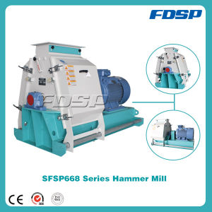 Stable Running Wood Hammer Mill pictures & photos