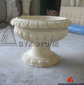Natural Granite Flower Pot / Planter for Outdoor Decoration pictures & photos