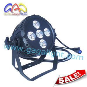 5*15W Outdoor LED PAR Can 3in1 COB Light pictures & photos