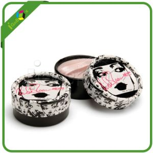 Cardboard Cosmetic Round Box for Foundation/Makeup pictures & photos
