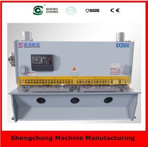 QC11y/K 12X3200 Hydraulic Manual Shear Machine Tool