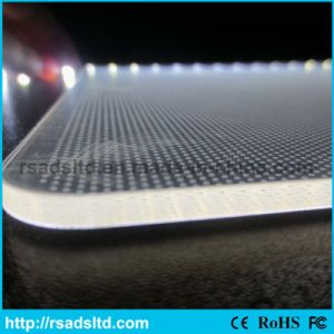 Laser Engraving Acrylic Light Guide Panel for Light Box pictures & photos