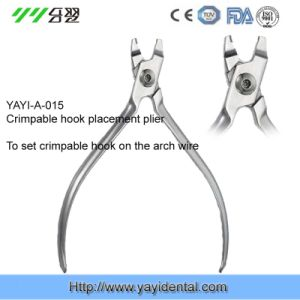 Dental Instrument: Crimpable Hook Placemen Plier (YAYI-015) pictures & photos
