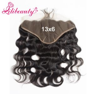 Fabulours Virgin Brazilian Hair Body Wave 13X6 Lace Frontal pictures & photos