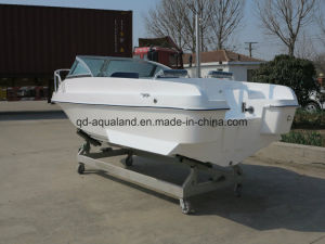 China Aqualand 15feet 4.6m Fiberglass Motor Boat /Sports Ffishing Boat (150br) pictures & photos