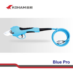 Koham Tools 6.6ah-5c Lithium Battery Gardening Loppers Electronic Secateurs Powered Scissors Electric Pruners Handheld Pruning Shears Bypass Trimmers pictures & photos