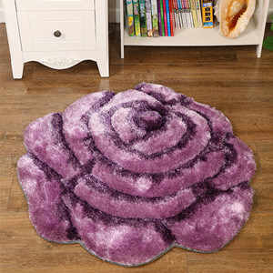 New Design High Quality Flowers 3D Fleece Carpet pictures & photos