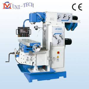 Vertical and Horizontal Swivel Head Universal Milling Machine pictures & photos