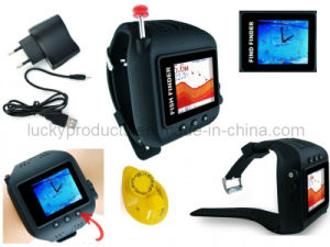 Potable Wireless Sonar Watch Fish Finder (FF518) pictures & photos