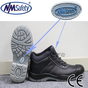 Nmsafety PU/Oxford Outsole Protective Toe Cap Safety Boots pictures & photos