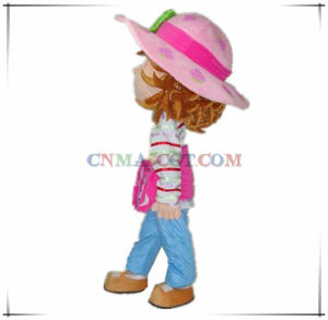 Very Beautiful Strawberry Girl Cartoon Mascot Costume pictures & photos