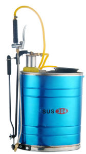 16litre Stainless Steel Knapsack Manual Sprayers (SS-16) pictures & photos