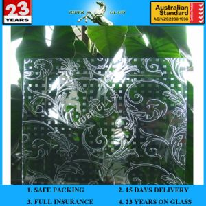 3-6mm Am-27 Decorative Acid Etched Frosted Art Architectural Glass pictures & photos