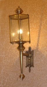 Pw-19346 Copper Wall Light with Glass Decorative pictures & photos
