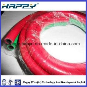 PVC Fiber Reinforced Twin Welding Hoses pictures & photos