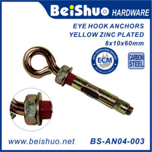 Wall Concrete Brick Expansion Screws Closed Eye Hook Sleeve Anchor pictures & photos