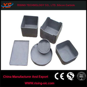 High Purity Silicon Carbide Sagger Rbsic Crucible