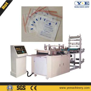 China Plastic Zipper Lock Bag Making Machine pictures & photos