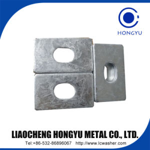 Square Taper Washers for High-Strength Structural Bolting of Steel Channel Sections pictures & photos