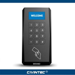 Crystal OLED Display NFC & 13.56MHz Versatile Smart Card Keyapd Reader with RS485 Osdp and Sams