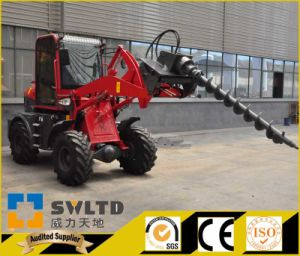 Small Wheel Loader with Ce Approved 1 Ton Wheel Loader pictures & photos