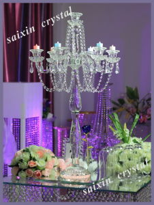 Gorgeous Wedding Decoration Crystal Candle Holder Zt-125