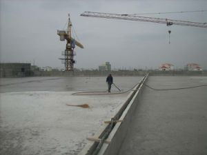 Foam Concrete Casting Floor