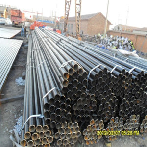 Quality Welded Steel Pipe (Surface Anti-rust oil covered) pictures & photos