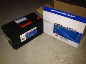 DIN100mf 12V100ah Sealed Lead Acid Maintenance Free Car Storage Battery pictures & photos