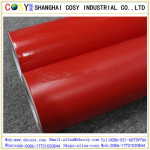 Red Matte Finish Self Adhesive Vinyl for Cutting Plotter Color Vinyl Sticker PVC Laminate Rolls pictures & photos