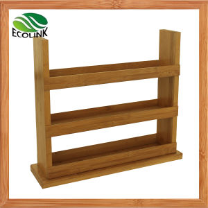 Bamboo Display Rack for Essential Oil Bottle pictures & photos