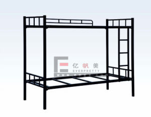 Dormitory Bedroom Use Steel Frame Bunk Bed for Student pictures & photos
